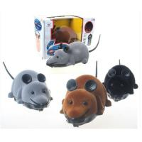 China Simulation Plush Electronic Remote control Mouse toy on sale