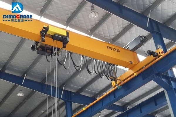 Overhead Crane Girder Deflection : Euro style overhead crane single girder