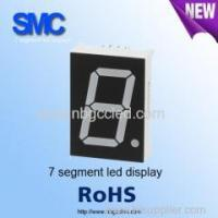 "China 0.39"" single digit green color7 segment LED display manufacturer wholesale"