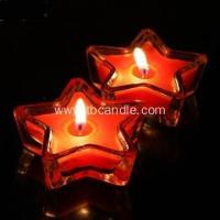 China Star Shape Tealight Candle Colorful Scented Romantic Lovely Gift wholesale