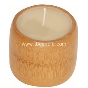 Quality Natural Environmental Bamboo Candle Scented Gift Candle for sale