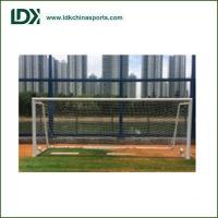 China 3X2m Portable aluminum soccer goal,beach soccer goal,soccer goal with shooting target wholesale