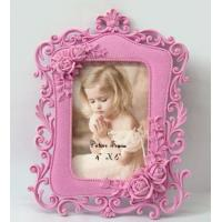 Buy cheap Polyresin photo frame 4x6 Leaves Desktop Glass from wholesalers