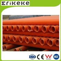 China PVC pipe and fittings Low price colored electrical pvc pipe sizes wholesale