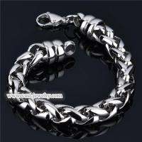 China Stainless Steel Chain Bracelet stainless steel bracelet HB3007 wholesale