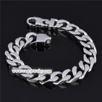 China Stainless Steel Chain Bracelet stainless steel bracelet HB3001 wholesale