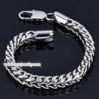China Stainless Steel Chain Bracelet stainless steel bracelet HB3008 wholesale