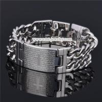 China Stainless Steel Chain Bracelet stainless steel bracelet HB3005 wholesale
