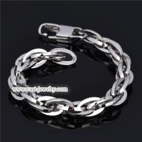 China Stainless Steel Chain Bracelet stainless steel bracelet HB3010 wholesale