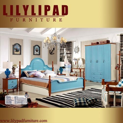 Bt908 Mediterranean Style Bedroom Set Of Lilypadfurniture