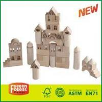 Natural Color Wooden Castle Building Block