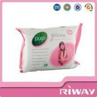 China Cheap cleansing face wipes, feminine intimate wipes wholesale