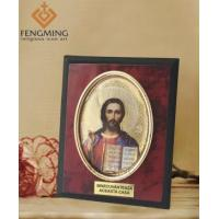 China Russian orthodox Jesus Christ pictures plastic frame on sale