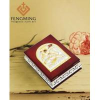 Saint George Silver Religious Icons Wood Gift Box