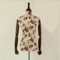China VINTAGE FABRIC COVERED MANNEQUINS female vintage fabric covered mannequin wholesale