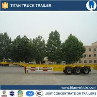 China Container trailer chassis Product Nametri-axle 40 feet container chassis wholesale