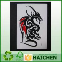 China Tattoo Sticker For Kids,Self Adhesive Gold Foil Temporary Sticker,3D Color Temporary Tatoo Sticker wholesale