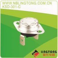China KSD-301 thermostat KSD301-E Snap-Action Bimetal Disc Thermostats 10A250V on sale