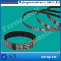 China Timing belt S5m Endless Pu Timing Belt Coated With Green Rubber on sale