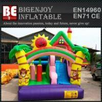 China super slide bounce house inflatable bouncer moonwalk wholesale