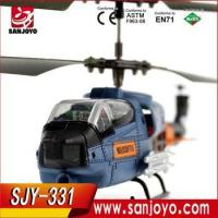 China 2016 high quality 3.5 ch outdoor helicopter with 2.4g remote controler rtf helicopter wholesale