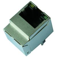 China 1840417-2 Gigabit Vertical RJ45 Connector With Magnetics wholesale