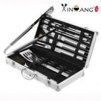 China New Products 18 Piece Stainless Steel BBQ Set on sale