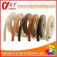 China PVC Edge Banding 0.3mm pre-glued melamine edge banding tape for furniture wholesale