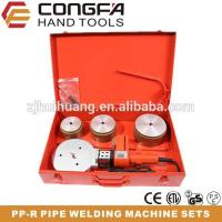 China HT110-AA NEW Digital Display Plastic PPR Pipes Welding Machine Set wholesale