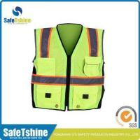 China Wholesale high visibility safety police cheap reflective vest wholesale