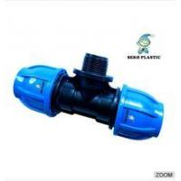 "China 20mm*1/2""-110mm*4""pp fitting male tee irrigation pipe fittings wholesale"