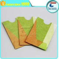 China paper RFID Blocking ID Credit Card Protector for credit cards wholesale