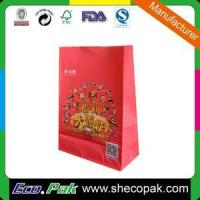 China Paper Food package Kraft paper bag wholesale