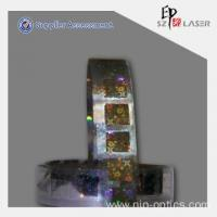 China Affordable Anti-counterfeiting Hologram Security Strip Label on sale