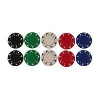 China Poker Chip MODEL: HN-420,clay poker chip with suited design wholesale