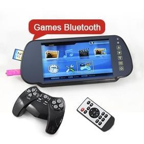 Quality Erisin ES333 Car Rearview Mirror USB/SD Bluetooth Games Player for sale