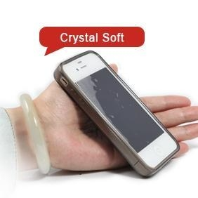 Quality iP004 Apple iPhone 4S S 4 4G Gel Crystal Soft Case Cover for sale