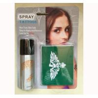 China Personal Care Items Temporary Tattoo Spray Sets on sale