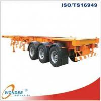 China WONDEE 40T Container Chassis Skeletal Semi-trailer wholesale