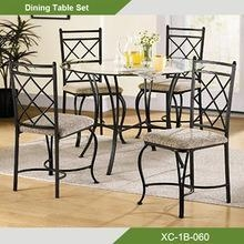 Cheap Round Glass Dining Room Table And Chair Set Of Unihomes