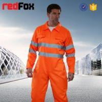 China safety fire retardant working coverall on sale