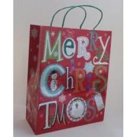China Paper Bags Merry Christmas Gift Paper Tote Bag wholesale