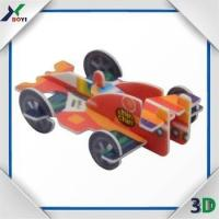 promtion gifts product plastic car pp puzzle mini toy for Kids