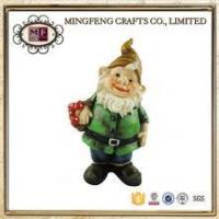 China Welcome Polyresin Gardening Gnome on sale