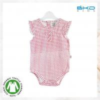 China organic cotton baby girl bodysuits wholesale