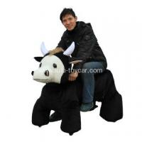 China big size plush animal ox wholesale
