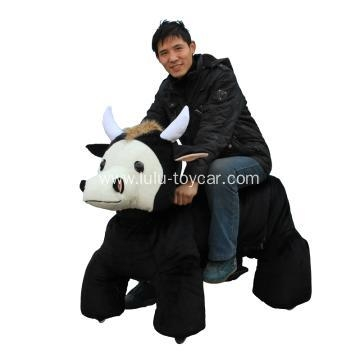 Quality big size plush animal ox for sale