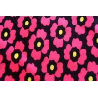 China heat printing tricot brushed polyester and spandex sleepwear fabric wholesale