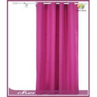 China Grommet Top Thermal Insulated Curtain with Backside Silver Backing to Reflect SunlightsPanel,Rose wholesale