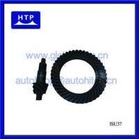 China various parts of car engine Crown & Pinion for isuzu 4BC2 Black 7-43 new wholesale